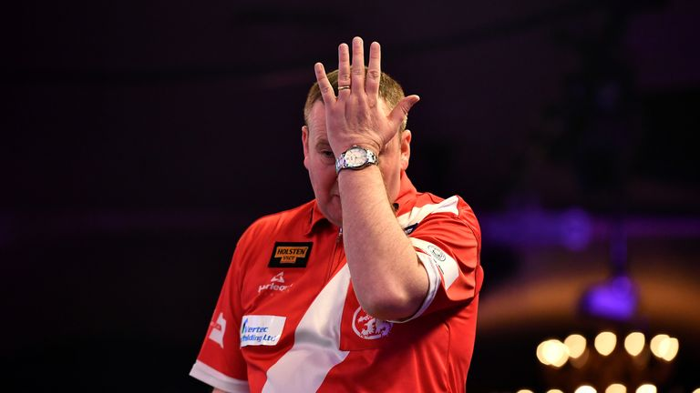 Durrant will face Peter Wright, Alan Norris and Corey Cadby after Tuesday's Grand Slam draw
