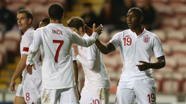 Benik Afobe represented England at U21 level before making the DR Congo switch