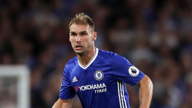 Branislav Ivanovic is on the verge of leaving Chelsea to sign for Zenit St Petersburg