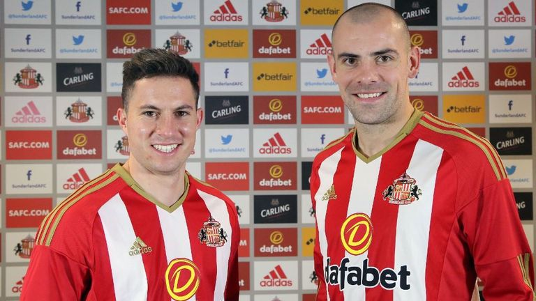 Bryan Oviedo and Darron Gibson made their debuts for Sunderland