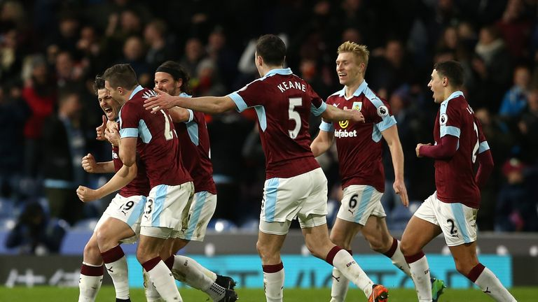 Burnley have won three of their last five games