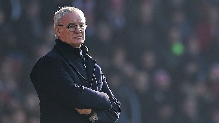 Claudio Ranieri's Leicester are without an away win this season