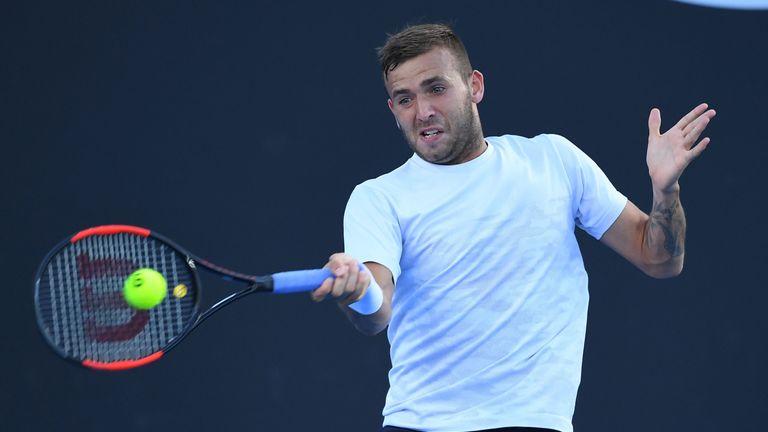 Dan Evans will open Great Britain's Davis Cup tie
