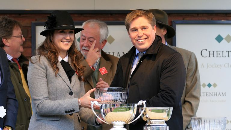 Trainer Dan Skelton  - can strike on Thursday