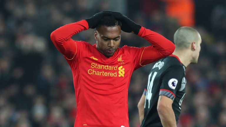Daniel Sturridge has found the net only once in January