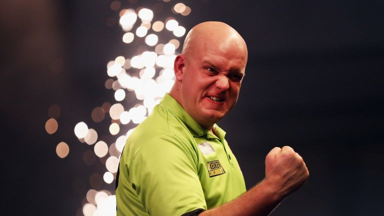 Michael van Gerwen drew praise from the Sky Sports experts for his semi-final display