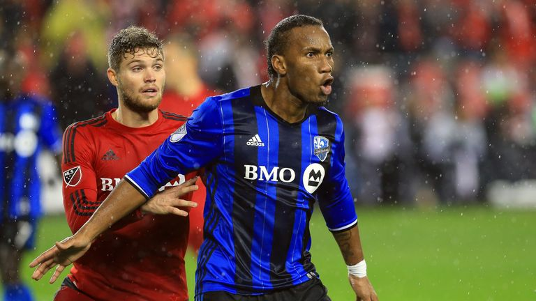 Didier Drogba left Montreal Impact in November and has turned down moves to South Melbourne and Corinthians