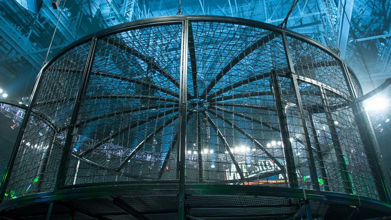 The Elimination Chamber will be in operation on Sunday, February 12