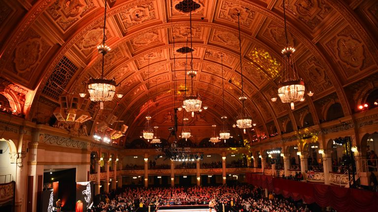 Fans flocked to Empress Ballroom for the two-night event
