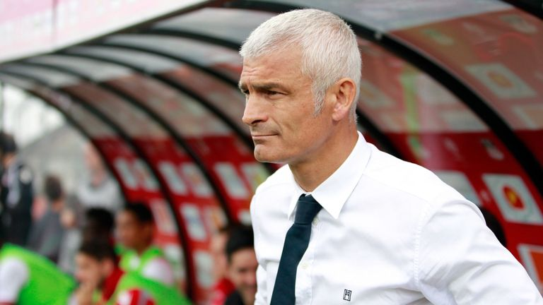 Fabrizio Ravanelli will return to the dugout as boss of Arsenal Kiev