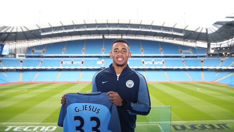 Gabriel Jesus was Manchester City's big January buy - and had an immediate impact