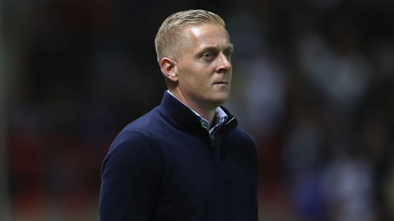 Garry Monk has led Leeds to fourth in the Championship so far this season