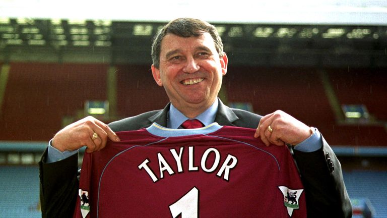 Taylor had two stints as manager of Aston Villa between 1987-90 and 2002-03