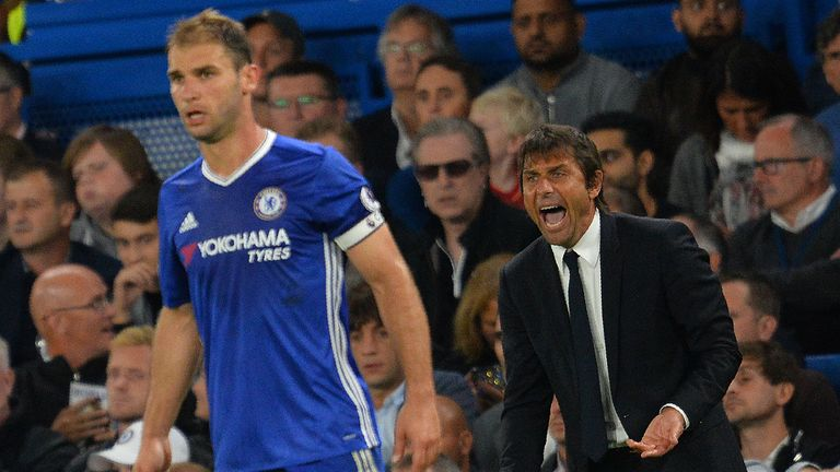 West Brom are keen on signing Branislav Ivanovic from Chelsea, according to Sky sources