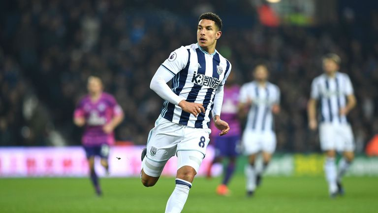 The midfielder has been in impressive form for the Baggies