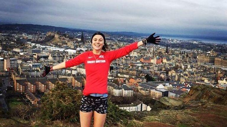 Jessica Judd enjoyed a recent birthday run in Edinburgh