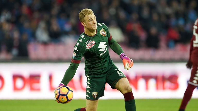 Joe Hart is on loan at Torino in Serie A