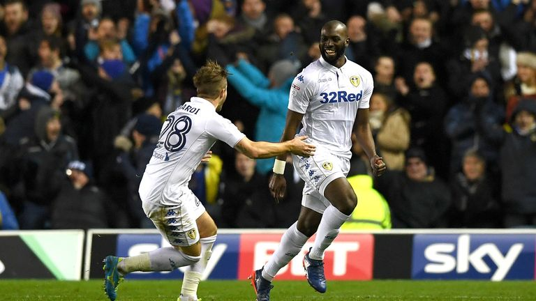 Souleymane Doukara came off the bench to steal the show for Leeds against Nottingham Forest