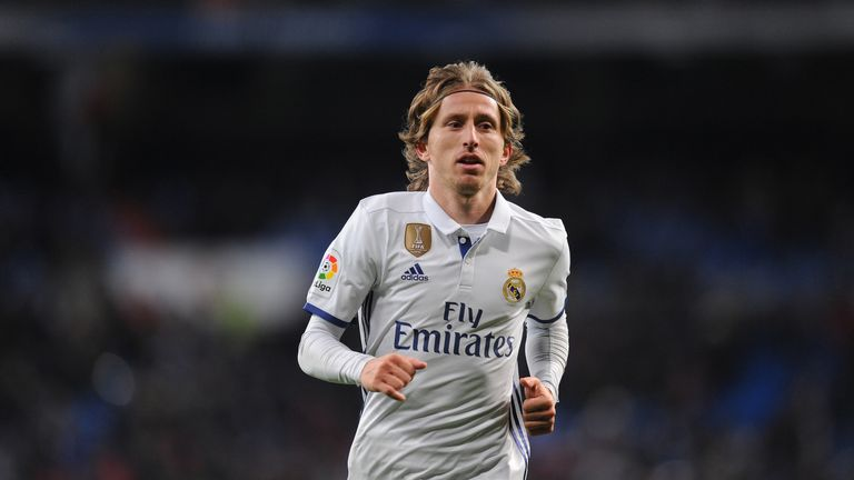 Luka Modric has long been admired by former Tottenham academy player, Harry Winks