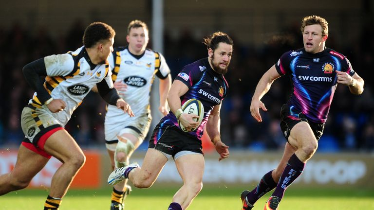 Michele Campagnaro has been in fine form for Exeter