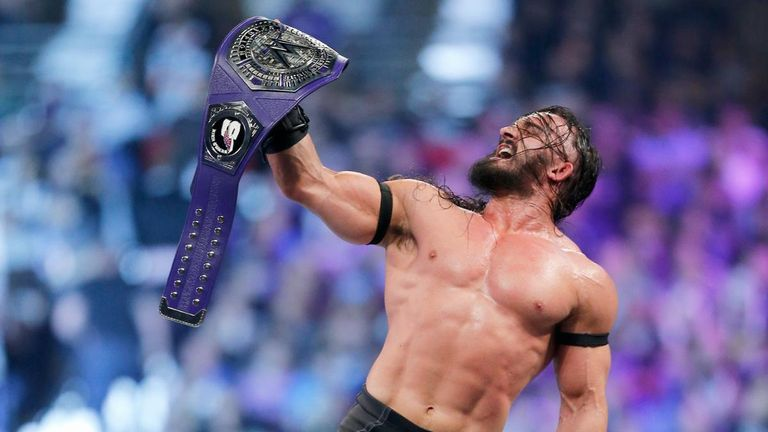 Neville scooped the Cruiserweight Title at Royal Rumble