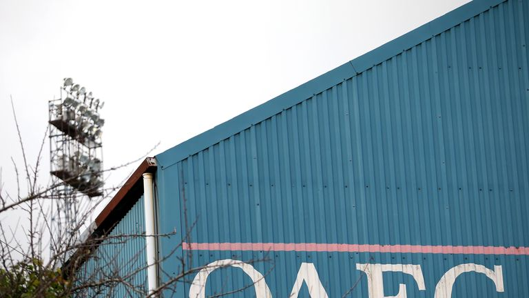 Oldham Athletic are founding members of the Premier League