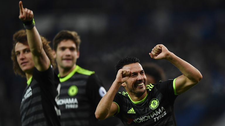 Chelsea bounced back from defeat at Spurs with a 3-0 win at Leicester