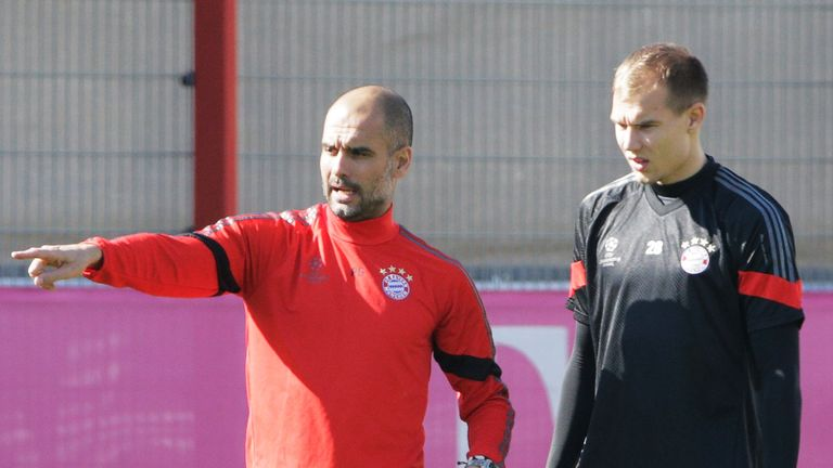 Holger Badstuber played for Pep Guardiola during his spell as Bayern Munich boss