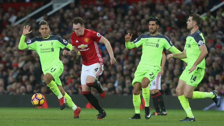 Phil Jones has been a key figure for Manchester United this season
