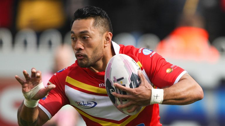 Former  Sheffield Eagles player Quentin Laulu-Togaga'e looks set to star for Toronto