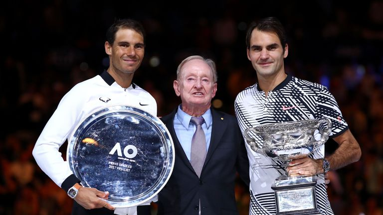 Federer and Nadal share 39 Grand Slam titles between each other