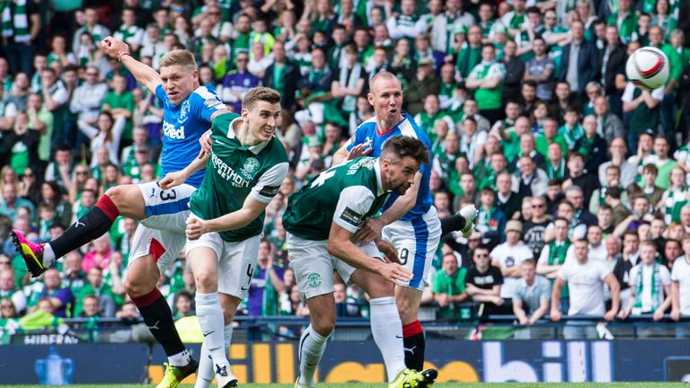 Rangers lost in the Scottish Cup final last season