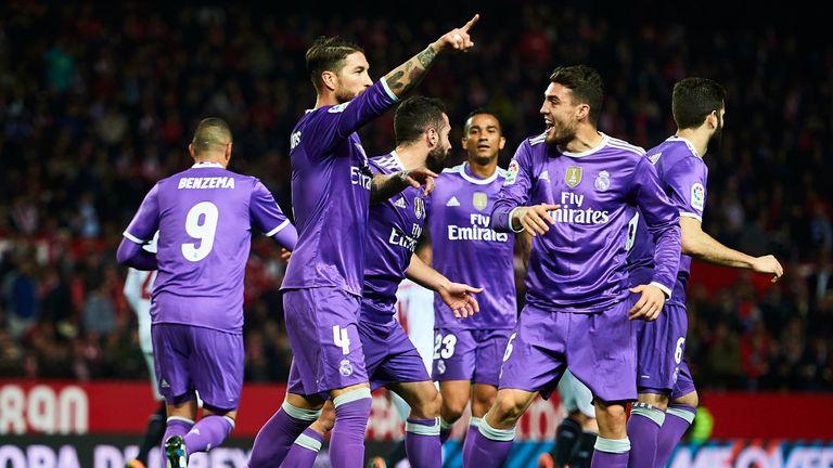 Sergio Ramos and Karim Benzema inspired the Real Madrid comeback