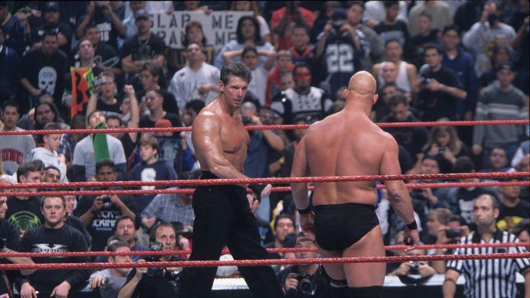 McMahon and Stone Cold were rivals in the Attitude Era