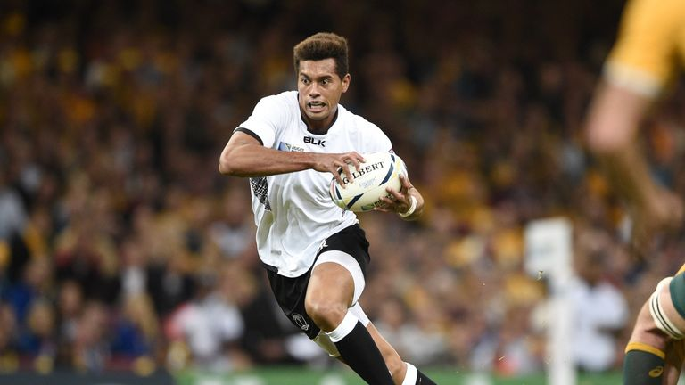 Fly-half Ben Volavola sealed victory for Fiji over Italy