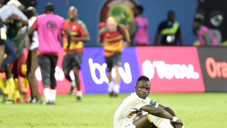 Sadio Mane's Senegal were knocked out at the quarter-final stage in the 2017 Africa Cup of Nations