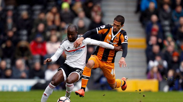The impressive Sone Aluko shone for Fulham against his former club