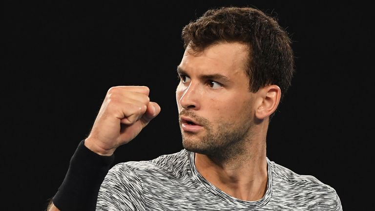Grigor Dimitrov showed that he is ready to win a major