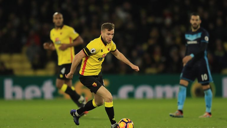Tom Cleverley will move permanently to Watford in July