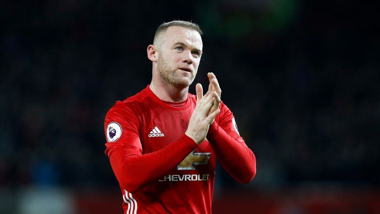 Rooney has five goals in all competitions for Manchester United this season