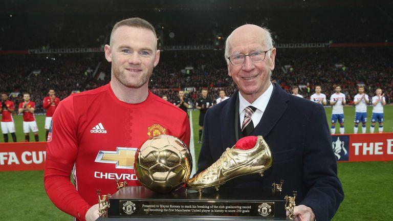 Rooney made history this season, overtaking Sir Bobby Charlton as United's leading goalscorer