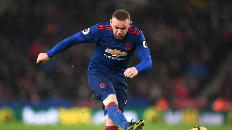 Rooney came on with just over 20 minutes remaining