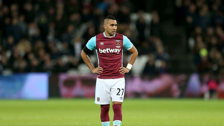 Dimitri Payet wants to leave West Ham in the January window