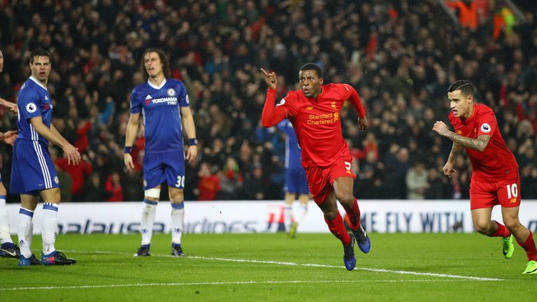 Georginio Wijnaldum says Liverpool must be consistent