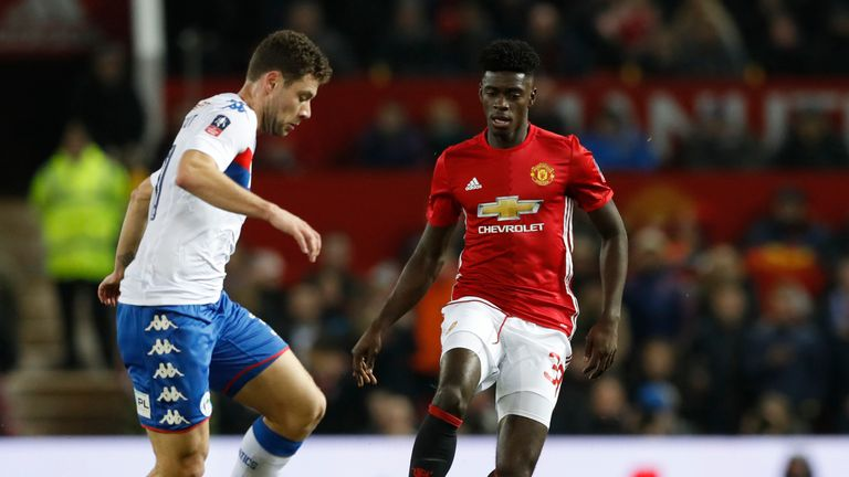 Manchester United's Axel Tuanzebe has signed a new contract