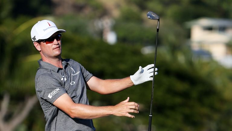Zach Johnson hit a 65 on the third day at the Sony Open