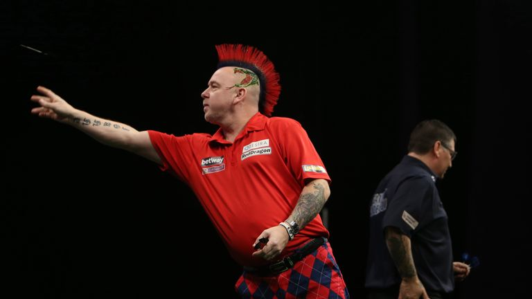 Peter Wright and Gary Anderson will represent Scotland
