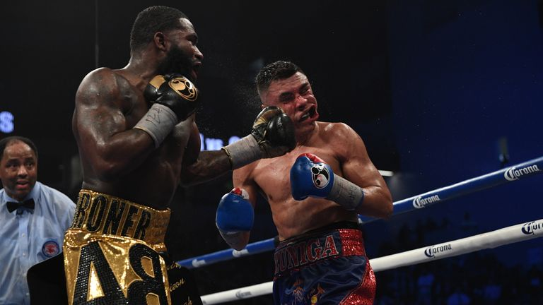 Adrien Broner returned to action in Cincinnati with a narrow win over long-time friend Adrian Granados