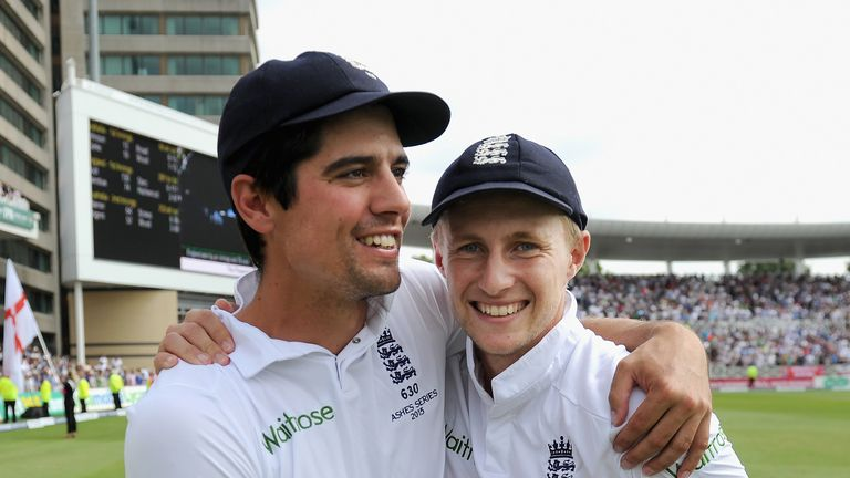 England captain Alastair Cook has backed Root's credentials