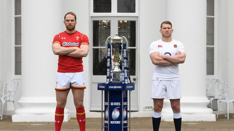 Alun Wyn Jones and Dylan Hartley will lead their countries on Saturday